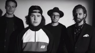 Lukas Graham besøger The Late Night Show