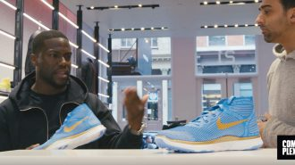 Sneakershopping med Kevin Hart