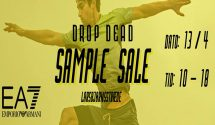 Sample SALE – EA7 AT DROP DEAD